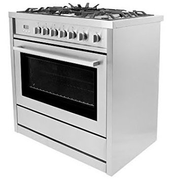 8 Best Gas Range Stoves in the USA
