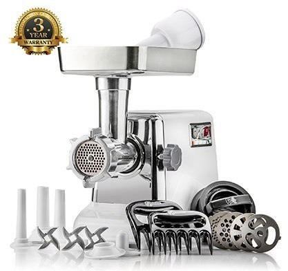 The best Electric Meat Grinder & Sausage Stuffer