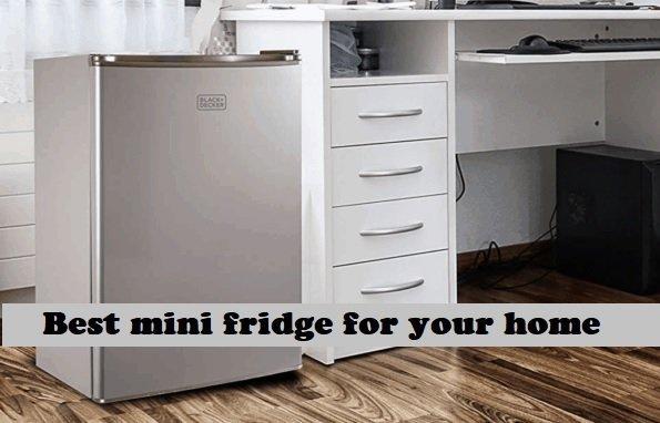 best mini fridge for your home