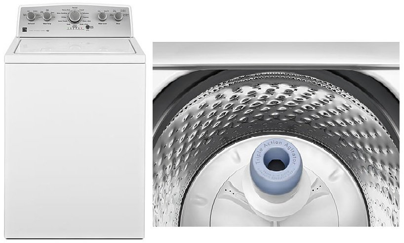 best Kenmore top load washers
