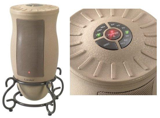 the best designer ceramic space heaters