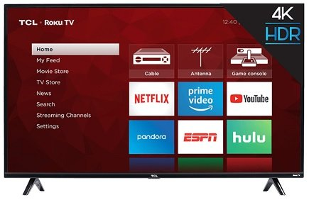 the best 50-inch LED TVs under $400